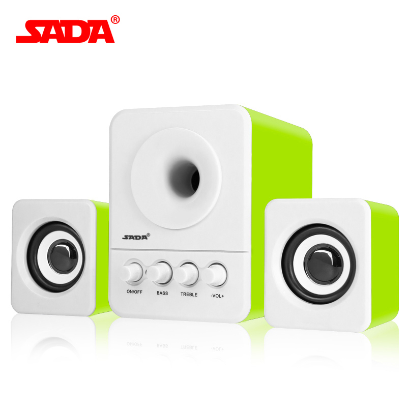 SADA Wired Mini Portable Combination Speaker 2