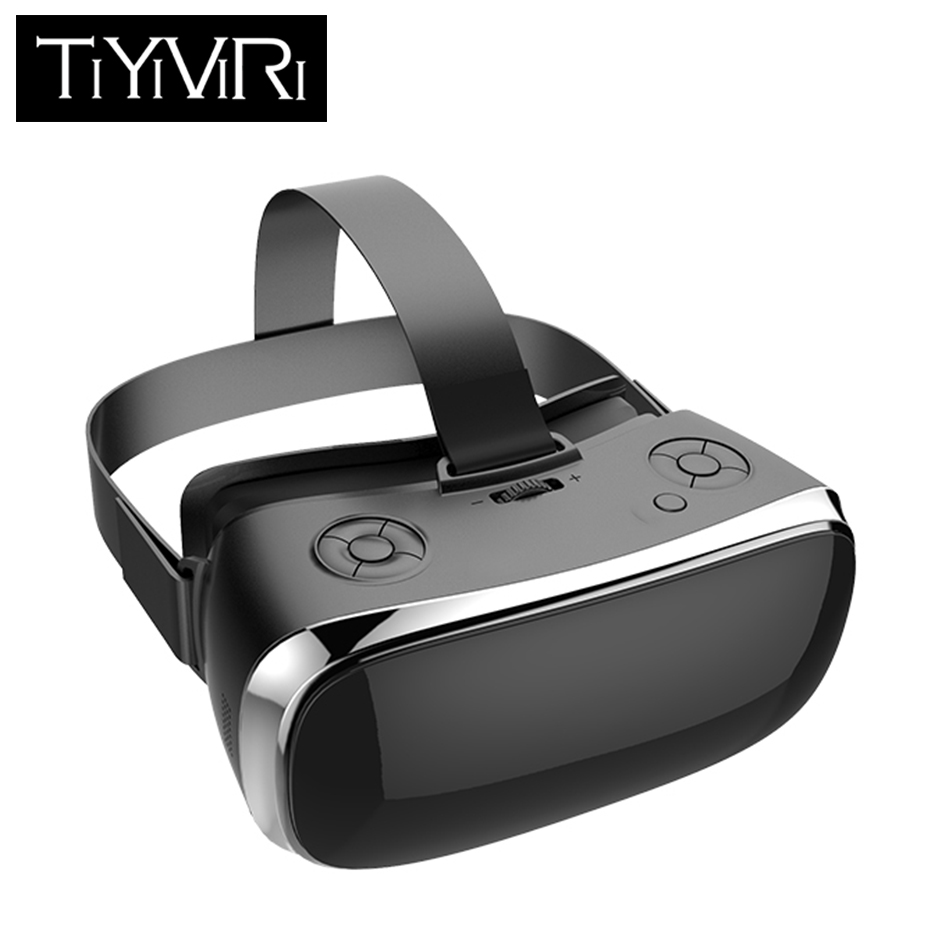 VR All In One Virtual PC Glasses Virtual Reality Goggles 3D Headset for PS4 one Game Console 2560*1440 Android 5.1 VR All image