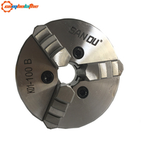 4'' inch 100mm mini lathe chuck with hardened steel K01 100B for sales