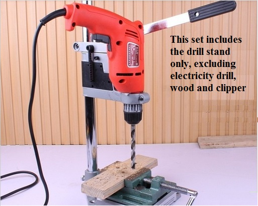 Electric Drill Stand With Adjustable Height Make Your Hand