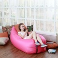 1pc Beach Portable Outdoor Inflatable Bone Furniture Sofa Hammock Sleeping Camping Air Bed Nylon Lazy Air Sofa Bag
