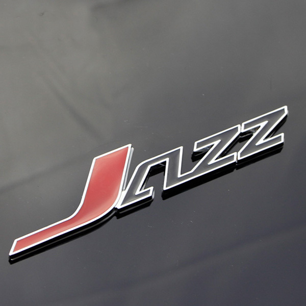 Aliexpress Buy 1 Pcs Universal 3d Jazz Logo Symbol Metal Alloy