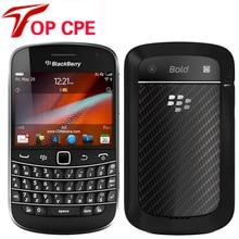 Оригинальный разблокирована blackberry 9900 wcdma 3 г qwerty клавиатура 8 ГБ rom 5mp bluetooth wi-fi восстановленное смартфон бесплатная доставка