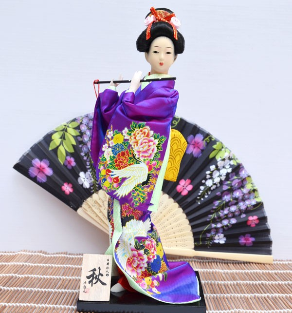 Geisha, Culture, Japanese, Antique, Decoration, Crafts