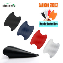 hot deal buy 4pcs/set car door sticker scratches resistant cover body decoration auto handle protection film exterior accessories car-styling