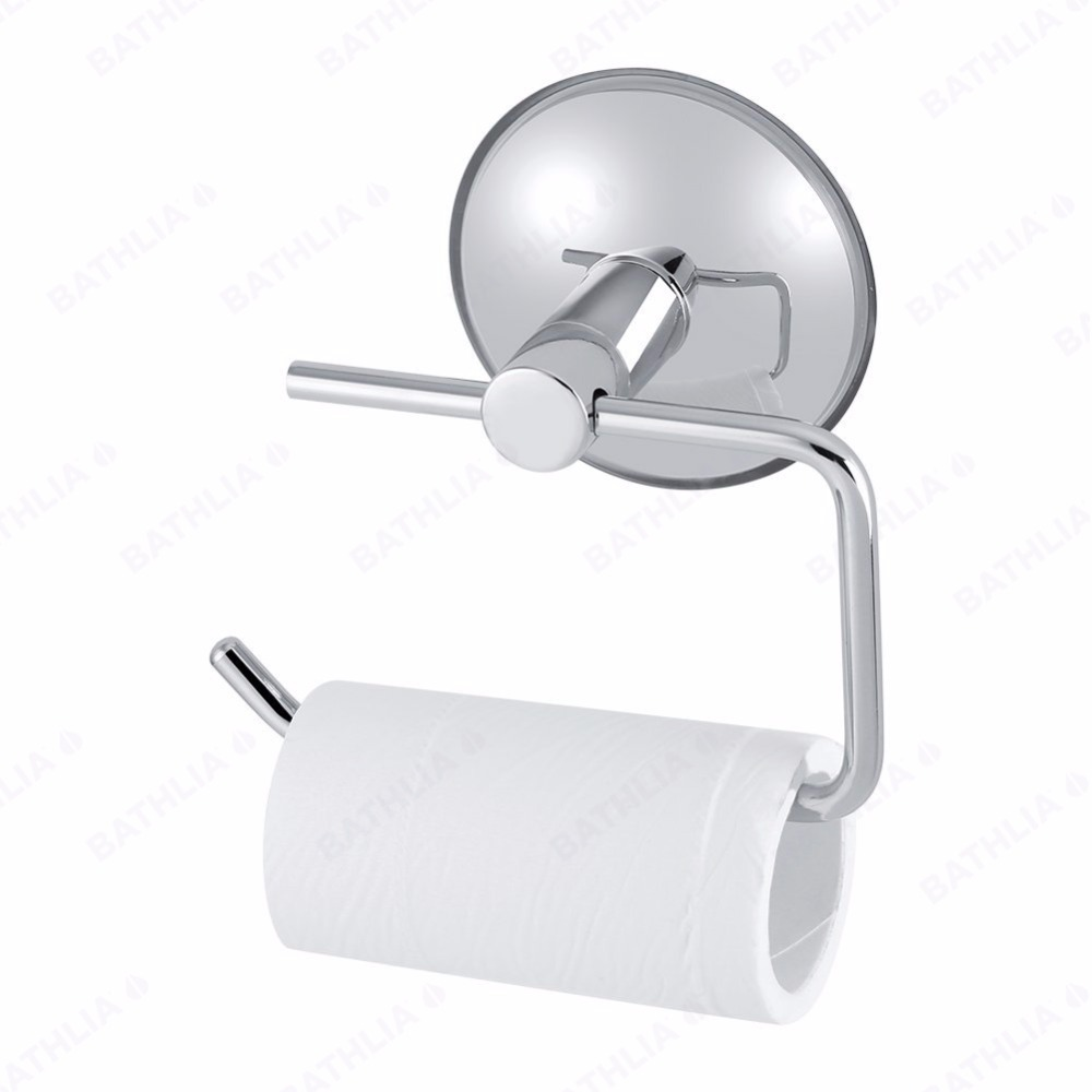 White Toilet Roll Holder Us 8 07 Stainless Steel Bathroom Toilet Paper Holder Roll Holder Tissue Bar Holder Wall Mounted By Air Vacuum Suction Cup Wall Hanger In Paper