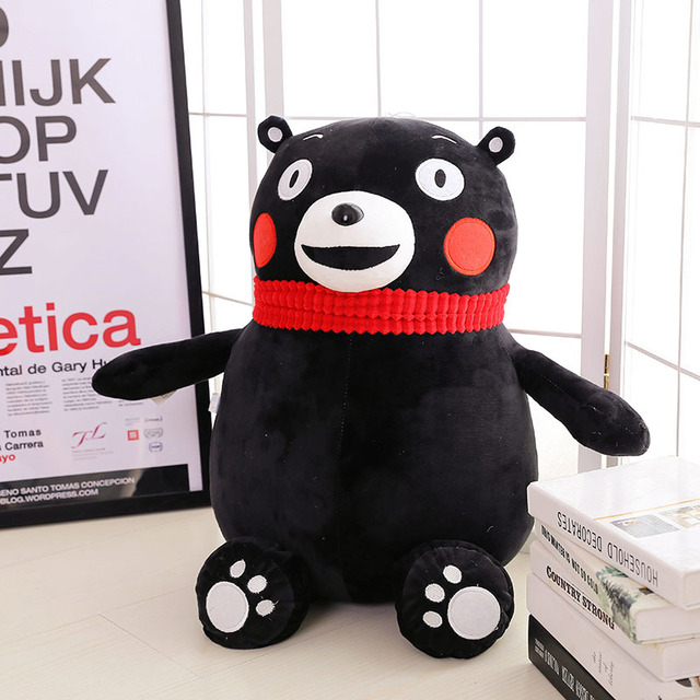 Anime Kumamoto Famous Mascot KUMAMON Bear Plush Doll Gift For Kids Birthday Gift Cartoon Kumamon Pillow Children's Day Gift
