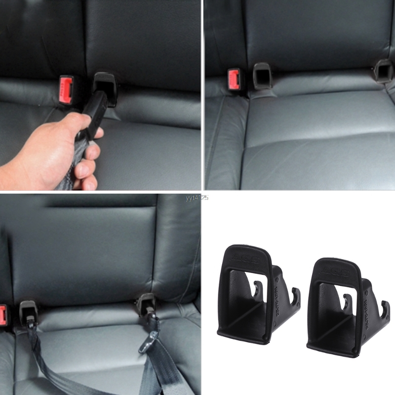 2 x Thicken ISOFIX Latch Belt Connector Guide Groove For Baby Car Seat Child Safety Seats wholesale