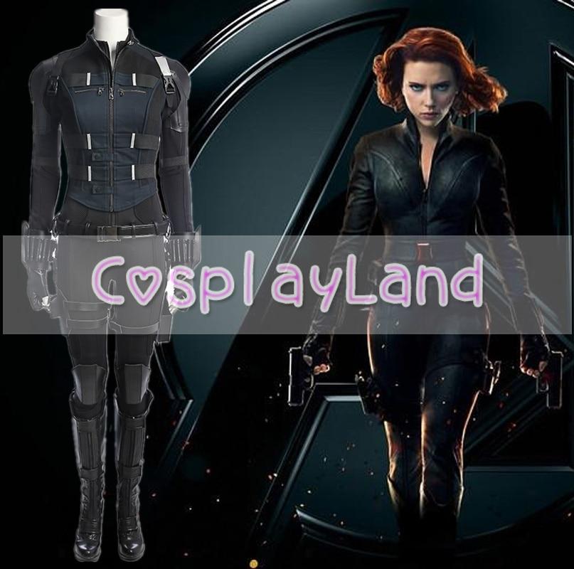 Avengers Infinity War Traje de la viuda negra Carnaval de Halloween - Disfraces