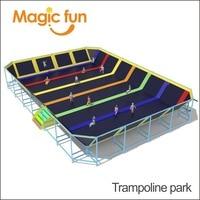 Волшебный весело Батутный парк и озорной одним развлекательного оборудования для продажи крытая площадка развлечений