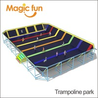 MAGIC FUN Trampoline Park and naughty one amusement equipment for sale indoor playground amusement