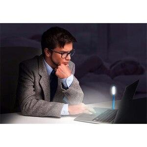 Image 2 - FFFAS Flexible USB Led Light Table Reading Lamp USB Gadgets Night Light For Xiaomi Power Bank Laptop Powerbank Notebook PC