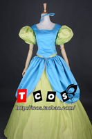 Free shipping Cinderella sister dress Cosplay Costume 2 styles