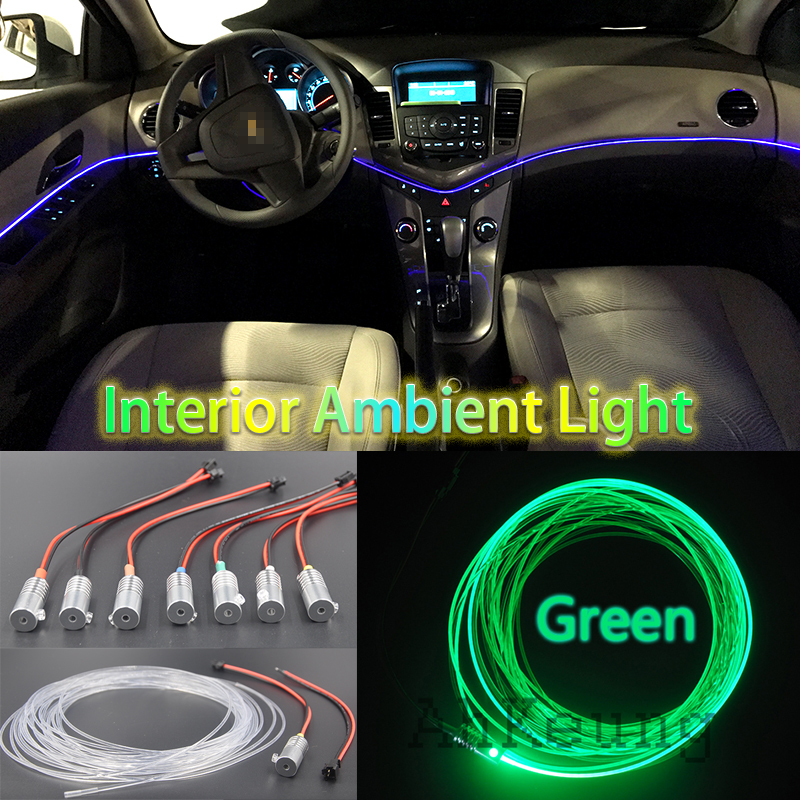 car metal head high brightness fiber optic lights car interior lights ambient lamp cold light. Black Bedroom Furniture Sets. Home Design Ideas