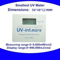 UV Meter UV integrator Radiometer UV tester detector monitor checker Smallest UV Meter 56X48X12mm Free shipping