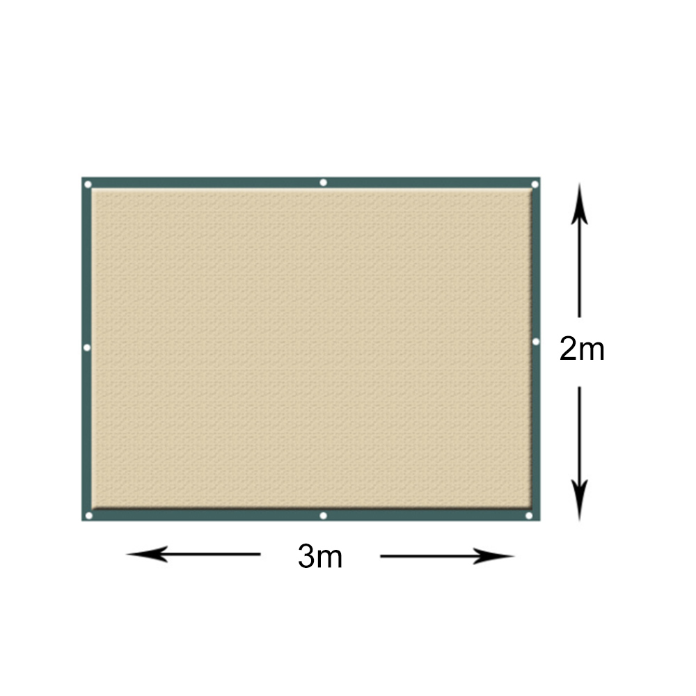 Outdoor Sun Shelter Net 6 Needle Thickened Covered  (6)