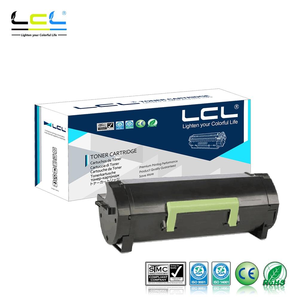 LCL 60F1000 60F2000 602 6000 Pages (1-Pack Black) Toner Cartridge Compatible for Lexmark MX610dw/MX611de/MX611dhe/MX611dte корм дл грызунов vitakraft menu дл кроликов сух 1кг