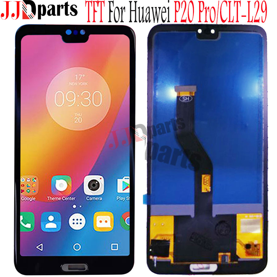 TFT 6 1 Huawei P20 Pro LCD with frame Display Screen Touch Digitizer Assembly for huawei