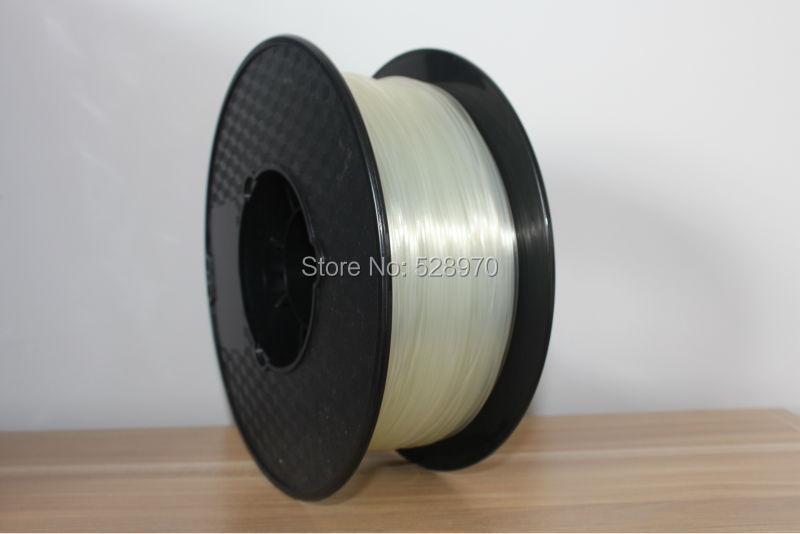natural translucent 3d printer filament 1 75mm 3mm pla wholesale 3d print plastic Rubber Consumables Material