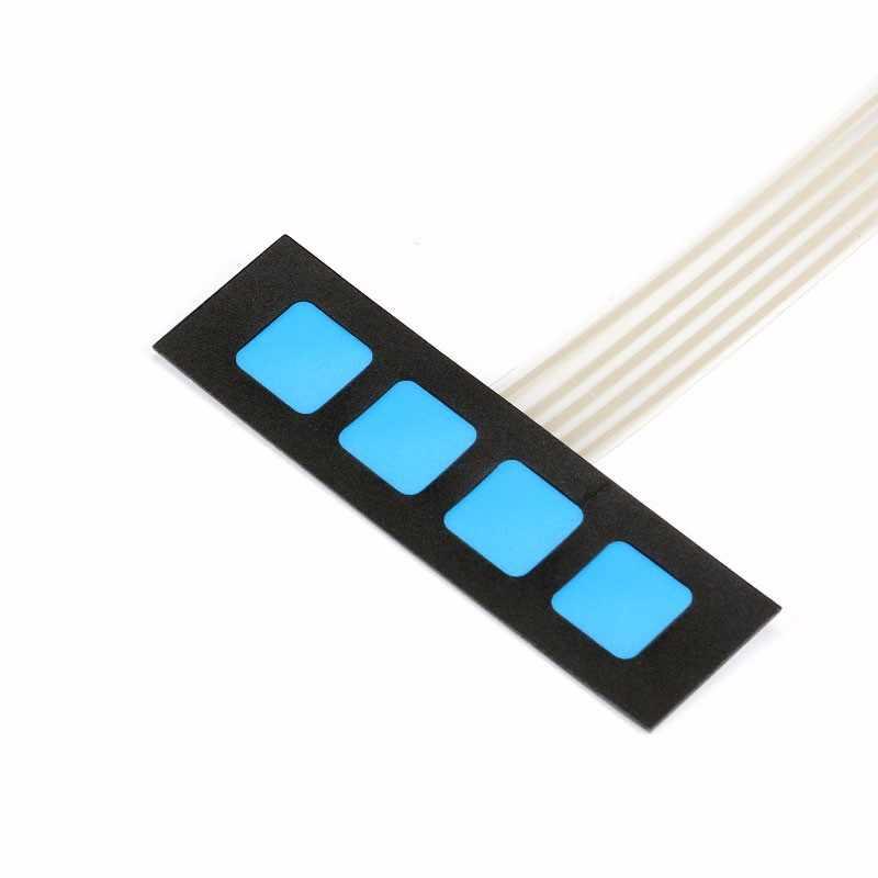 4 touches matrice contact à Membrane clavier panneau de commande SCM clavier étendu pour Arduino 1x4 pas de mots