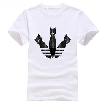 f96551a88bf Camiseta Banksy bombas arte de la calle descuento caliente nueva moda envío  gratis 2018 es de
