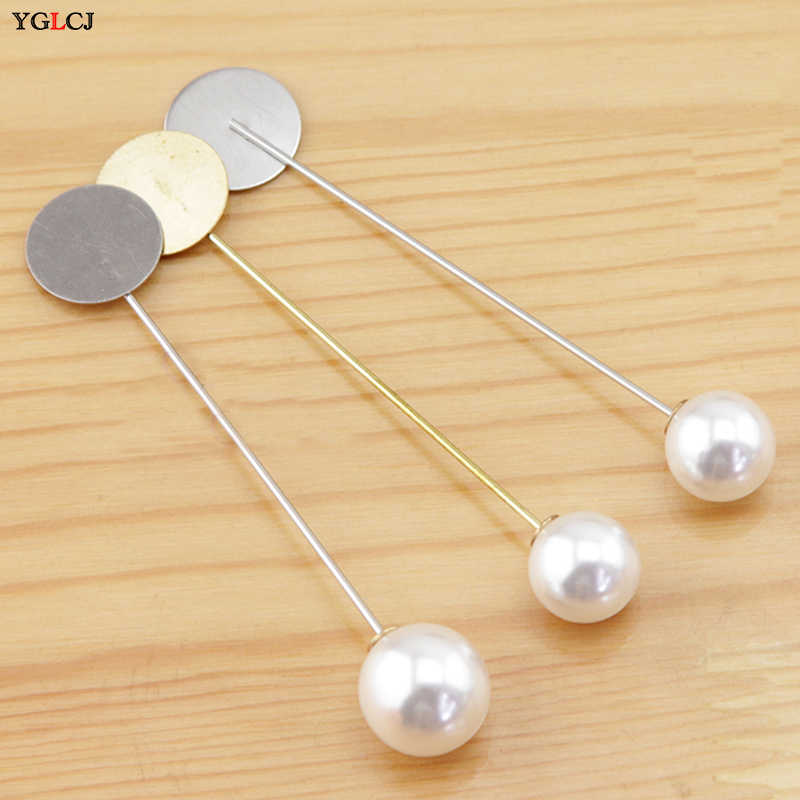 1PCS Ms./Girl Imitation Pearl Brooch Classic Charm High Quality Accessories Simple Pearl Brooch Joker Single Brooch