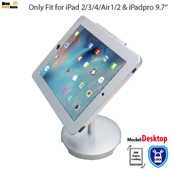 tablet Holder Mount holder for iPad 2 3 4 tablet pc stand metal case stand desktop holder lockable security desktop Holder stand portable 5 level abs stand holder for ipad 2 ipod touch 4 iphone 3g 4 purple