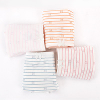 Big children's underwear cotton striped simple student briefs girls 12 13 15 years old comfortable breathable underwear