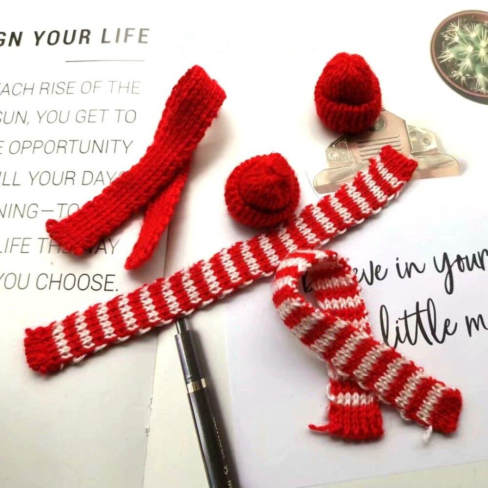Lot 2 handmade crochet miniature hats hanging ornament doll accessories miniature crochet cups handmade