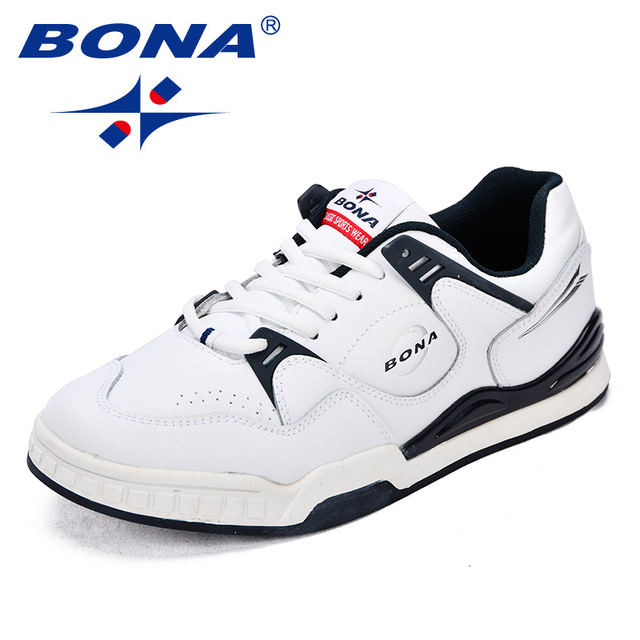 BONA New Classics Style Men Skateboarding Shoes Action Leather Men Sport Shoes Outdoor Jogging Shoes Men Sneakers Free Shipping