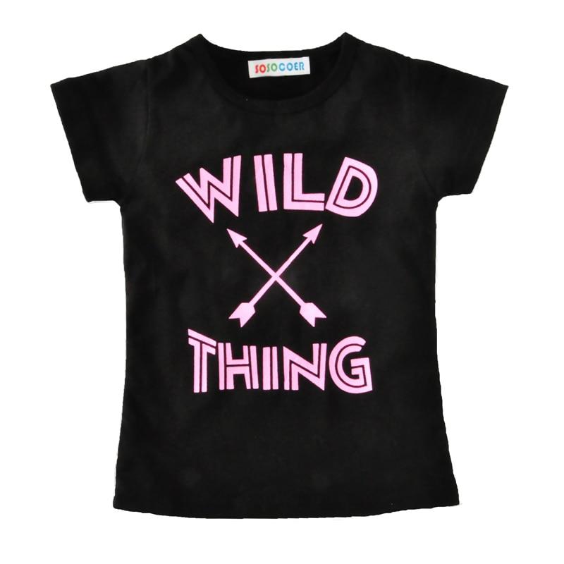 SOSOCOER Baby Girl киім жиынтығы Fashion Arrow T Shirt + - Балалар киімі - фото 3