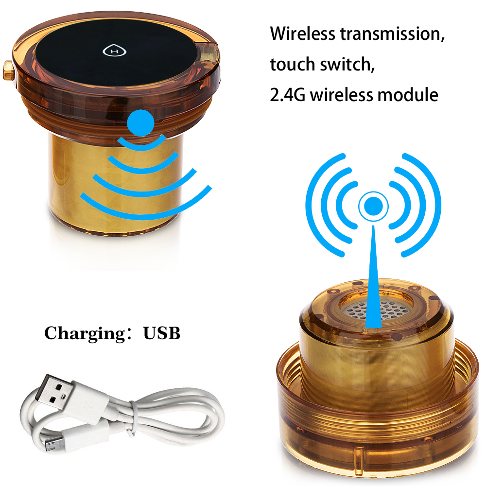 MRETOH 7.8Hz Earth frequency Molecular Resonance Hydrogen generator water cup USB Rechargeable Electrolysis Ionizer Generator