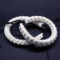 100 Natural Snake Bone Bracelet Adjustable Personalized Unique Bracelet Bone Of Cobra Handmade