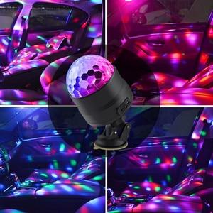 Image 4 - Atotalof USB LED Bar Podium Verlichting RGB Mini Disco Ball Light Sound Activated DJ Projector Party Verlichting voor Auto Thuis KTV