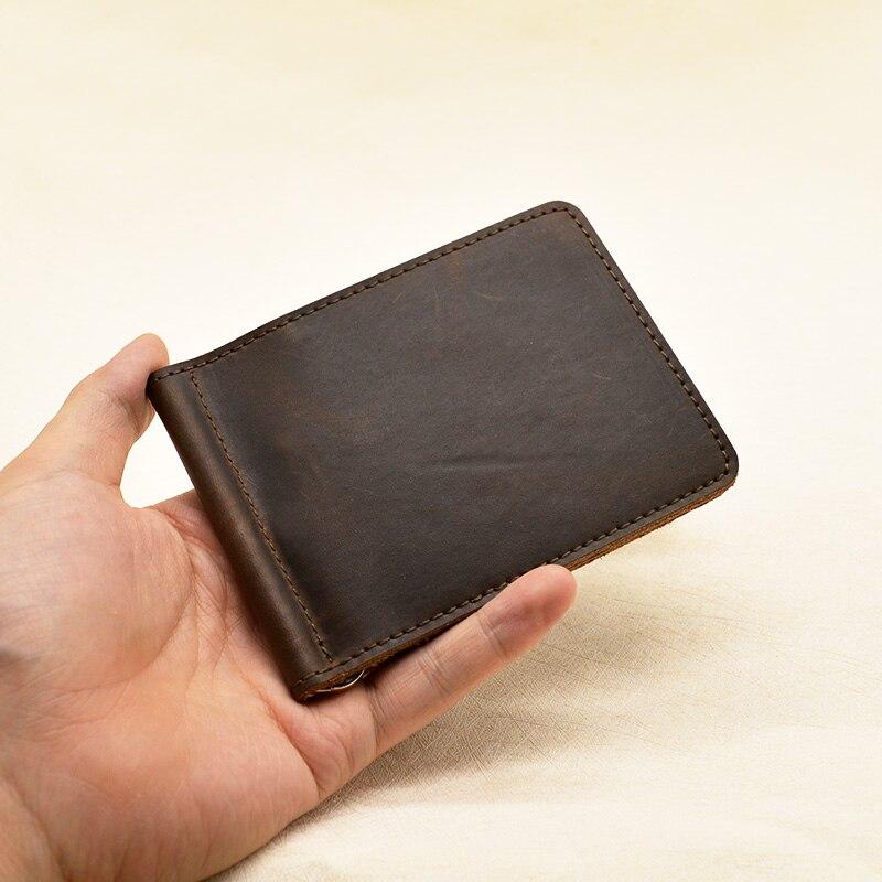 do dinheiro fino com metal Largura do Item : 0.7cm