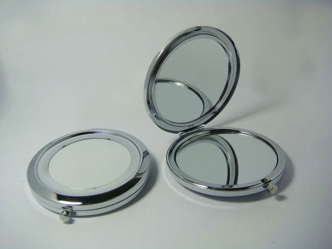RüCksichtsvoll 100 Stücke Taschenspiegel Diy Tragbare Metall Kosmetikspiegel Silber & Kupfer-dhl-freies Verschiffen Buy One Give One Spiegel