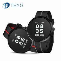 Teyo V06 Smart Watch Heart Rate Monitor Blood Pressure Wearable Devices Fitness Tracker Smart Wristband Pedometer