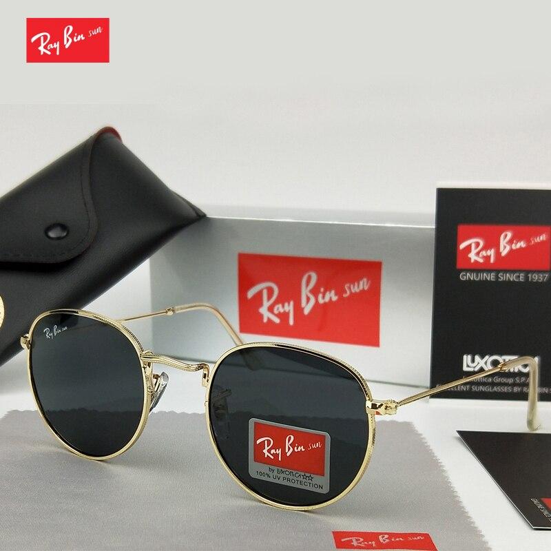 Ray Bin Sonne Polarisierte Sonnenbrille Klassische Marke sonnenbrille Beschichtung Objektiv Driving Shades Männer Frauen masculino Männlichen Spiegel Brillen