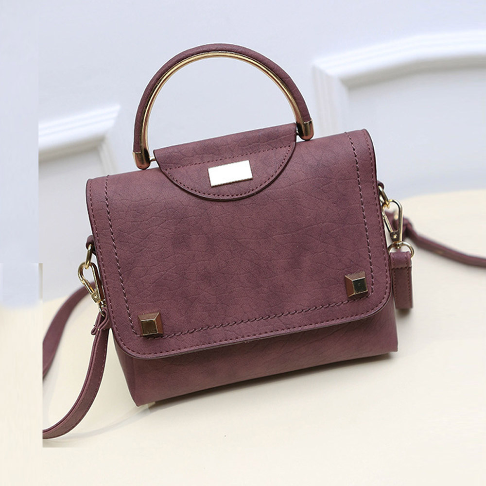 Crossbody Bags Handbags Women Famous Brands Fashion Rivet PU Leather Shoulder Bag Large Tote Ladies Purse bolsos femenina