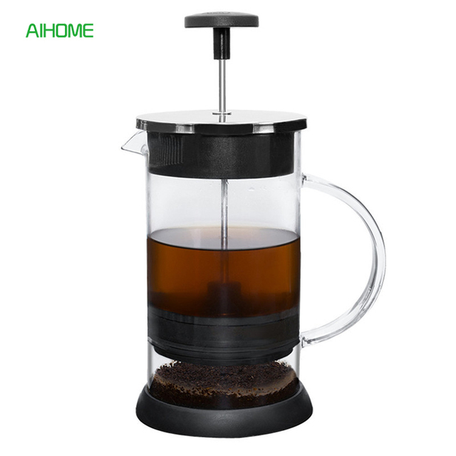 1000ml French Coffee Press Pot Plunger Tea Infuser Brewing Maker With Filter Gl Stainless