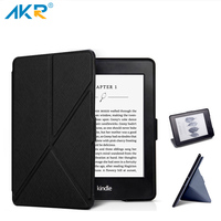 Fashion PU Leather Case For Kindle 8 Gen 2016 Stand Cover Variety Folding Pattern AKR 2017