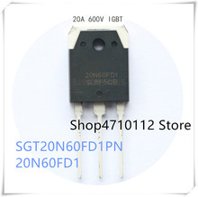 NEW 10PCS/LOT SGT20N60FD1PN 20N60FD1 20A 600V TO-3P