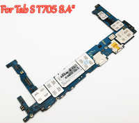 """Tested Full Work Unlock Motherboard For Samsung Galaxy Tab S T700 T705 8.4"""" Logic Circuit Electronic Panel From Original Phone"""