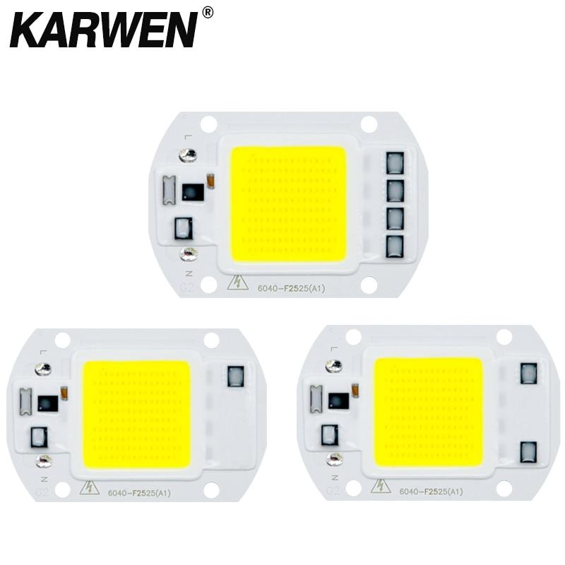COB LED Lamp Chip 3W 5W 7W 9W 10W 20W 30W 50W 220V Smart IC No Need Driver Lampada LED Bulb Flood Light Chips Spotlight Lighting