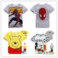 free shipping New 2016 summer children t shirts, hot sale boy clothes, boy clothing T-shirt kids clothes boys 100% cotton