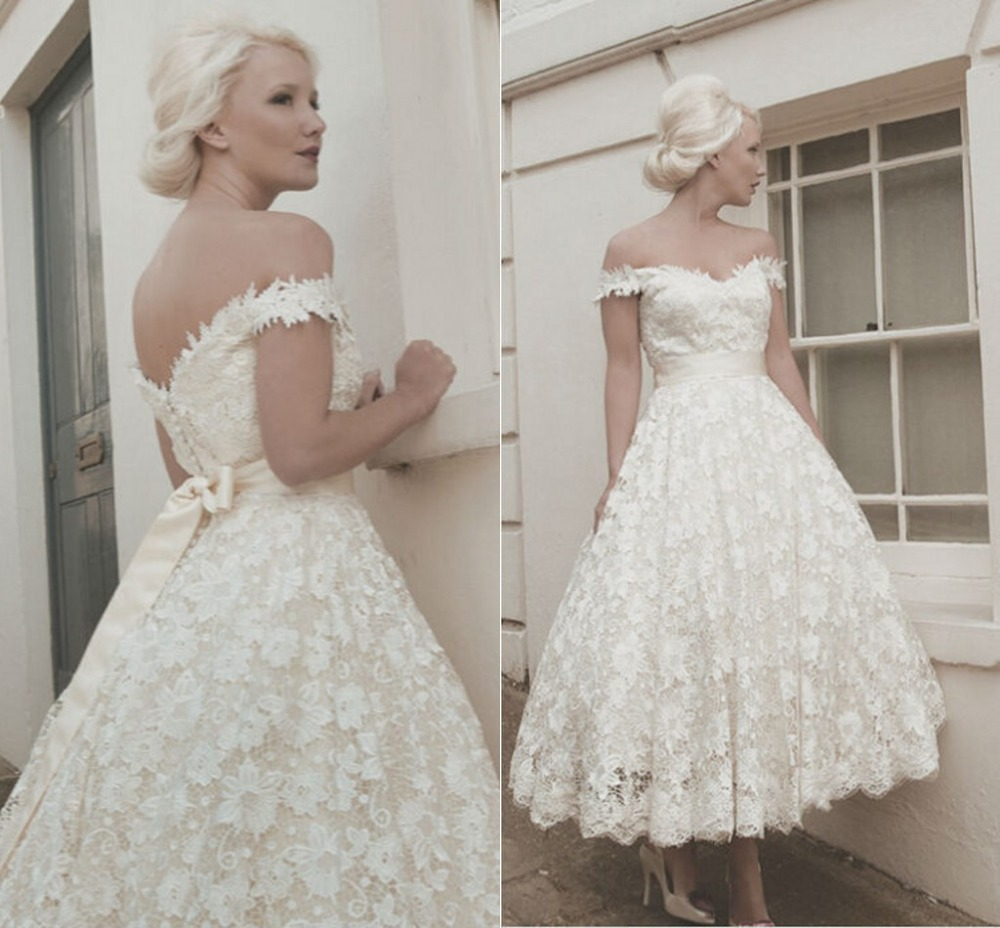 Erfreut Vintage Romantische Brautkleider Fotos - Hochzeit Kleid ...