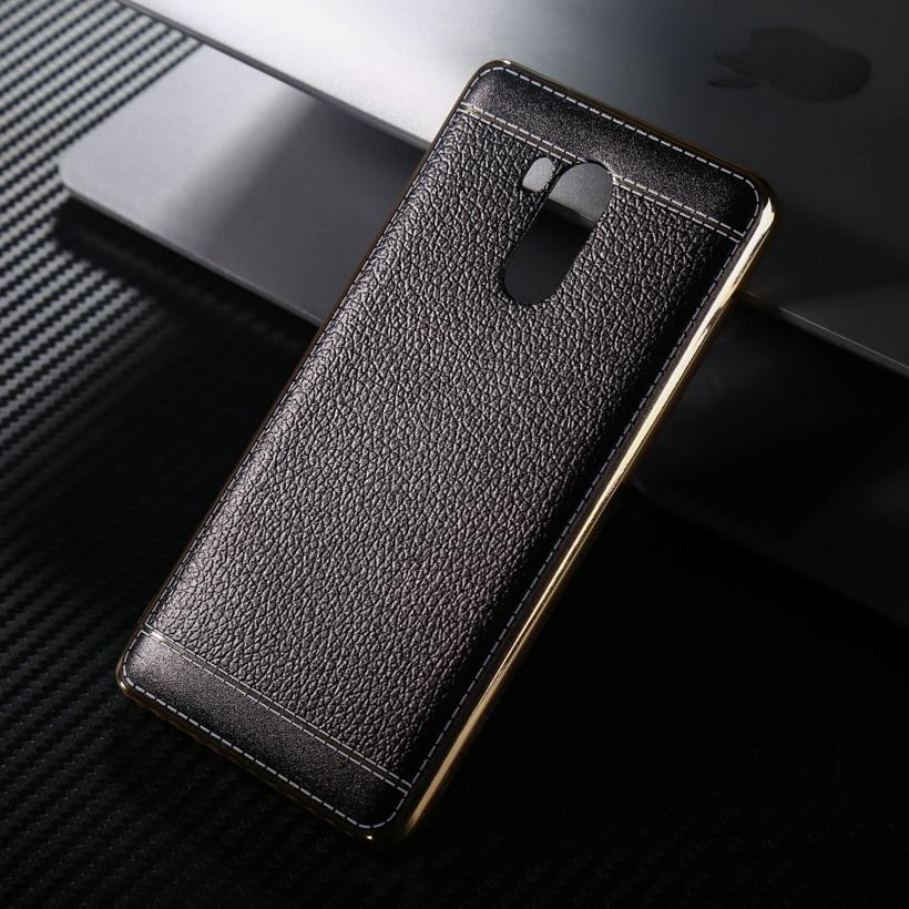 Cell Phone For Xiaomi Redmi4 Redmi 4 Pro Prime 32GB ROM red rice 4 Pro 5.0 Inch Spedu Litchi Grain Plating TPU Silicone Cases