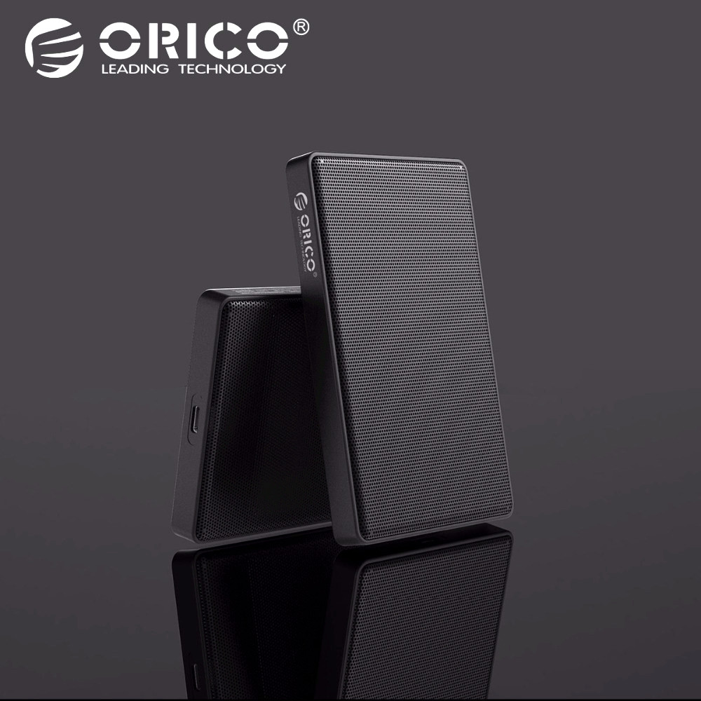 ORICO Full Mesh HDD funda 2,5 pulgadas SATA a USB 3,0 SSD adaptador para Samsung Seagate 1 TB 2 Disco Duro unidad externa HDD caja