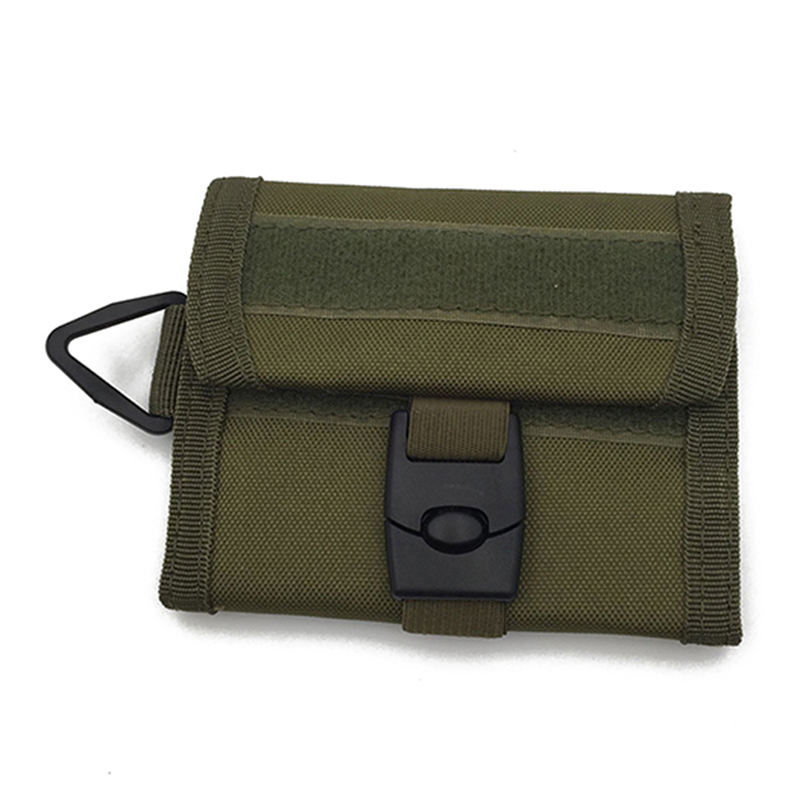 Outdoor Multi-function Tactical Wallet Key Bag Waterproof Sports Purse Molle Card Pocket Key Hanging Bag Army Accessories
