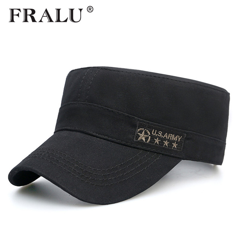 FRALU Baseball Cap Men Spring For Jeans Dad Flat Hat Polo Black Blank Luxury Brand New Designer Luxury Brand Casual Accessories